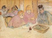 Henri de toulouse-lautrec Women in a Brothel china oil painting reproduction